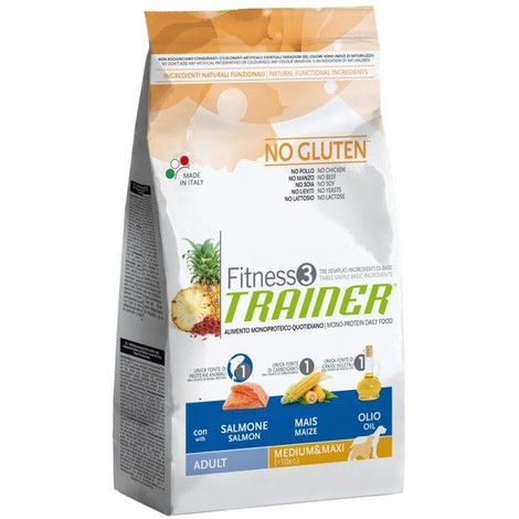 Trainer Fitness3 Adult M/M Salmon & Maize	3kg