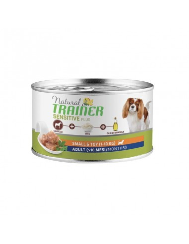 Trainer Fitness3 Dog Adult Mini Horse & Peas Lattina 150gr