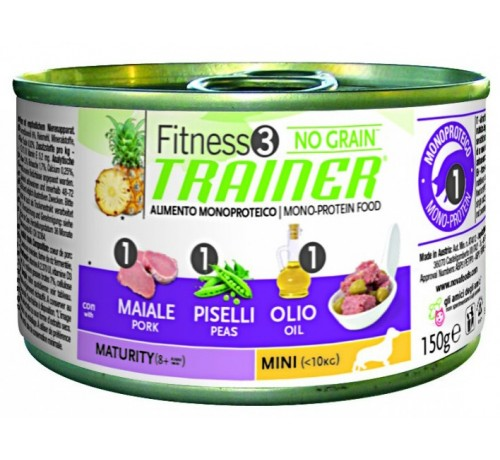 Trainer Fitness3 Dog Maturity Mini Lattina 150gr