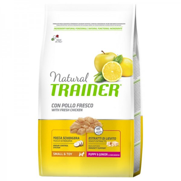 Trainer Natural Dog Small & Toy Puppy & Junior Pollo Fresco	7kg
