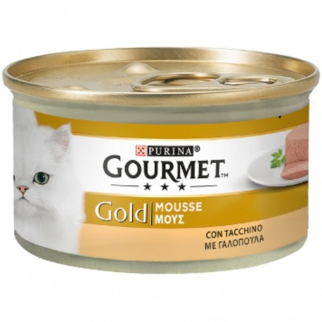 GOLD MOUSSE CON TACCHINO 85gr