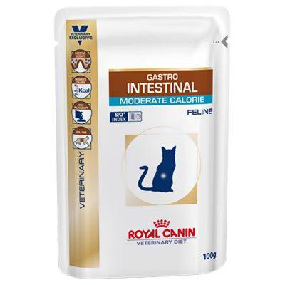 ROYAL CANIN GASTRO INTESTINAL MODERATE CALORIE 12x100 gr