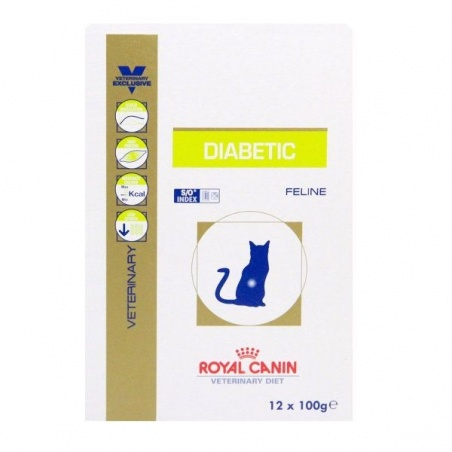 ROYAL CANIN CAT DIABETIC 12x100 gr