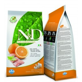 N&D DOG  GRAIN FREE Pesce e Arancia Adult Medium kg.2,5