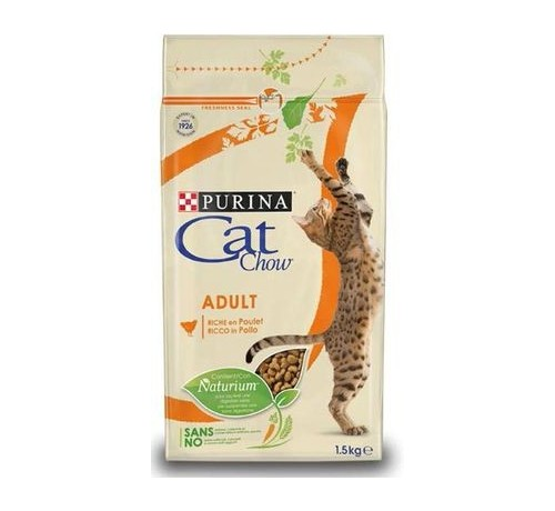 CAT CHOW ADULT POLLO 1.5kg