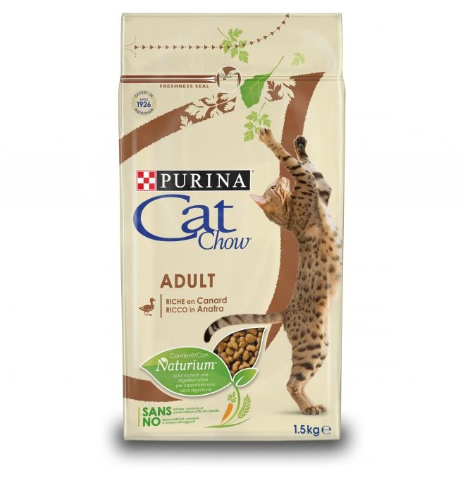 CAT CHOW ADULT ANATRA 1.5kg