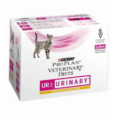 Veterinary Diets MULTIPACK UR -  URINARY POLLO	85gr