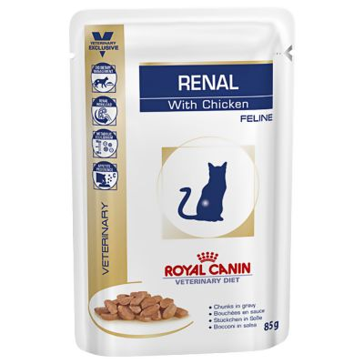 CROYAL CANIN AT RENAL POLLO 12x85 gr