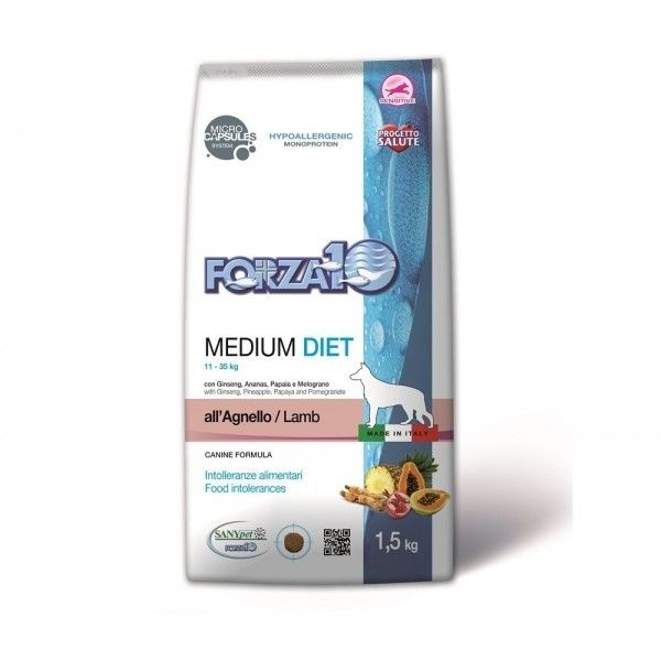 Medium Diet Agnello kg 12