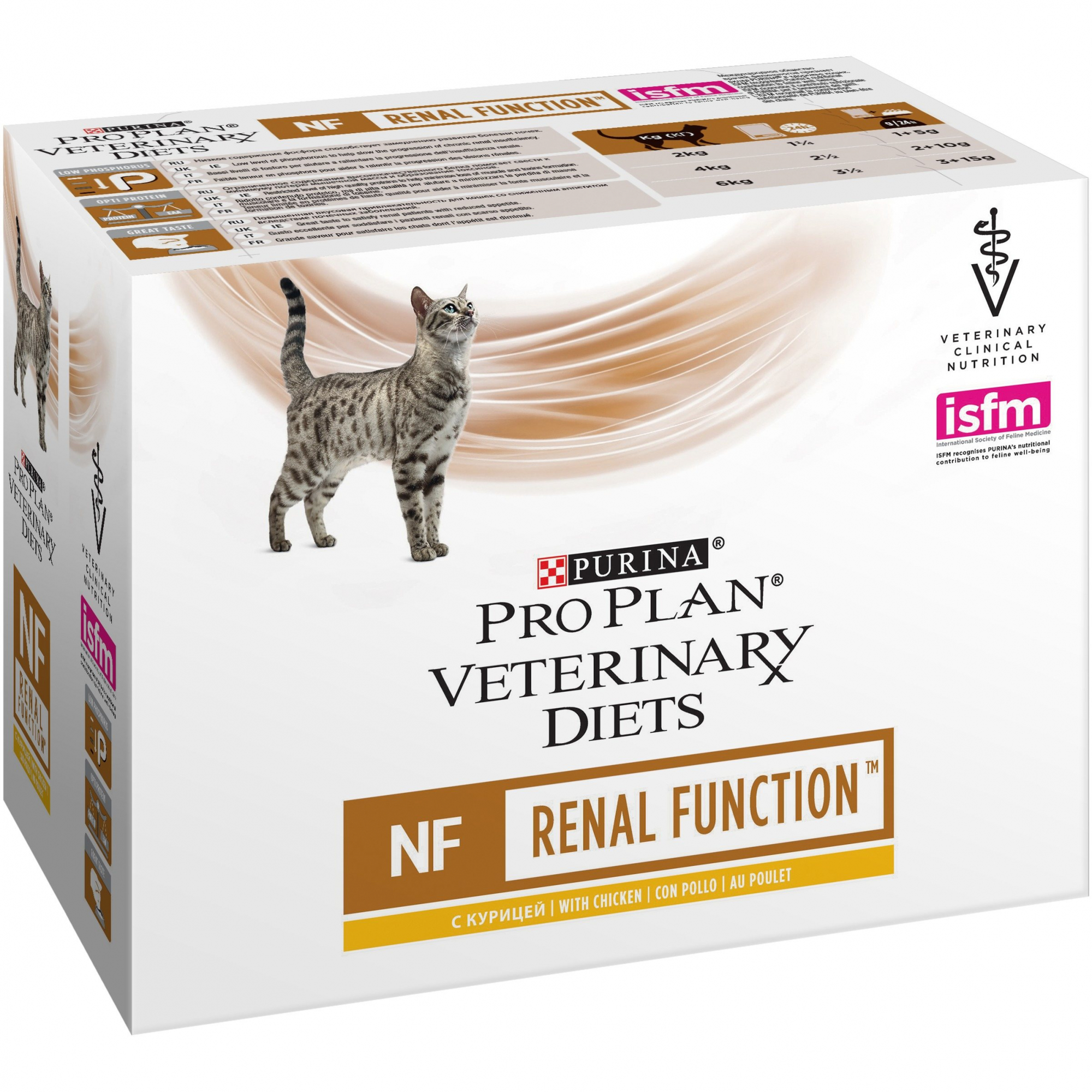 Veterinary Diets MULTIPACK NF -  RENAL FAILURE POLLO	85gr